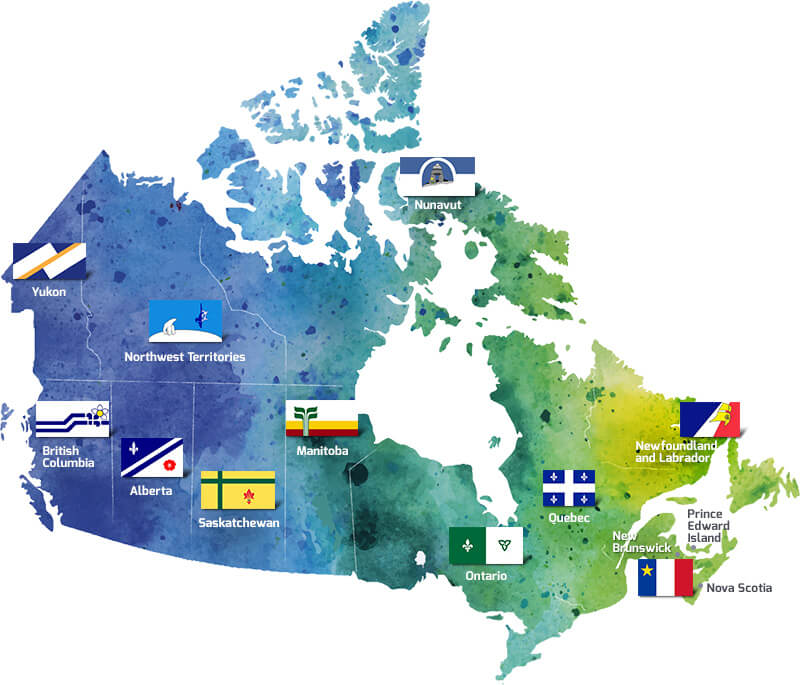 French Map Of Canada.Francophone Communities Les Rendez Vous De La Francophonie