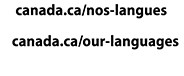 ourlanguages.gc.ca Language Portal of Canada